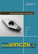 Emil Vincek Diamantwerkzeuge - Zerspanungswerkzeuge 2018-2019